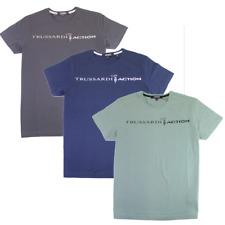 T-shirt Uomo Trussardi Action Manica Corta 100% Cotone Logo Grande 32087