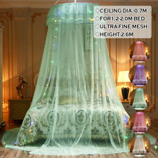 Mosquito Net Bedding Lace Elegant Princess Dome Mesh Bedroom Bed Canop