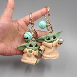 Wholesale Baby Yoda Mandalorian Star Wars Keychain Accessory Pendant Keyring