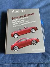 New ListingAudi Tt Shop Manual Service Repair Book Bentley, Roadster And Quattro