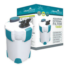 Aquarium fish tank external filter 1000L/H Free Media All Pond Solutions 1000EF