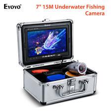 "Eyoyo 7"" 15m Underwater Fishing Camera Fish Finder 1000tvl for Lake Boat Sea"