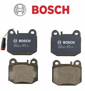 Rear For Mercedes Benz W163 ML430 ML500 ML55 AMG Brake Pads Bosch QuietCast
