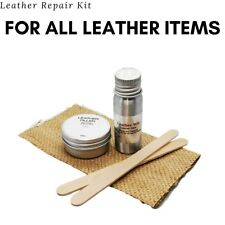 Leather Repair Kit - Rips, Tares, Car Seats, Shoes, Jackets Extra Strong Glue