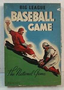 Antique Big League Baseball Board Game Complete in Original Box