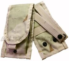NEW Double Mag Pouch Desert Camo DCU Molle 30 Round 2 Magazine Pouch US Military