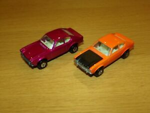 Matchbox superfast vintage 54 Ford Capri x2 in excellent condition.