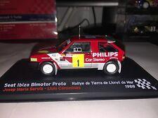 SEAT Ibiza Bimotor Proto - 1988 Rally Tierra Lloret de Mar - J.M. Servia - Rare