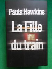 LA FILLE DU TRAIN PAULA HAWKINS 2015 EDITIONS DE NOYELLES  GD FORMAT