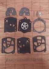 Walbro WS CARBURETOR CARB REBUILD REPAIR KIT HOMELITE 410 chainsaw DM40 saw