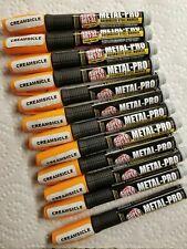Super MET-AL Metal Pro Galvanized Steel Markers (Creamsicle Color 12 PACK)