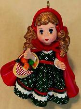 Hallmark Keepsake Ornament Little Red Riding Hood 1991