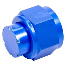 Aeroquip FBM3740 -06 AN Fitting Cap Aluminum Blue Anodized 1 Per Package