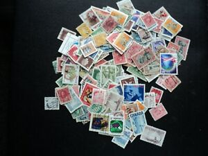 LOT OF STAMPS:  CANADA: VICTORIA TO LATER.