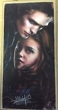 twilight BELLA AND EDWARD WOODEN WALL HANGING
