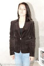 jolie veste velours marron JOSEPH taille 38 (UK 10) TOUTE NEUVE valeur 360€