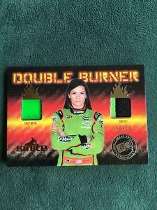 2012 Press Pass Ignite Danica Patrick Double Burner dual relic 6/10
