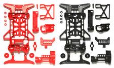 TAMIYA MINI 4WD RICAMBI SUPER X REINFORCED CHASSIS SET (RED/BLACK) - ITEM 95242