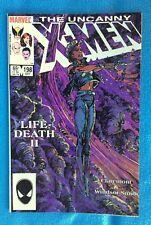Uncanny X-Men 198 October, 1985 LifeDeath II Barry Windsor-Smith Art    NM