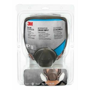 3M Full Face Professional Paint Respirator Medium 6800