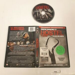 Hostel (DVD, Unrated Widescreen Cut) Quentin Tarantino