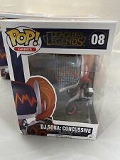 Funko Pop Vinyl Figure League of Legends World Championshi DJ Sona Concussive#08