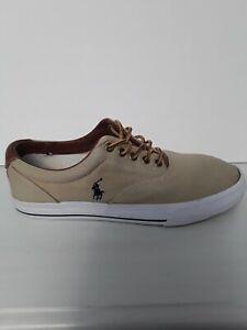 Mens  Casual RalphLauren Sneakers - Size - 10.5D - Beige