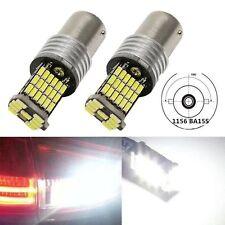 1 Pair 1156 ba15s p21w 45smd 4014 bright reverse Pure White Bright Car LED bulbs