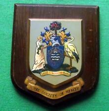 More details for old nurse doctor university royal society health hospital crest plaque shield b