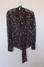 Vintage Dolce & Gabbanna Silk Women's Wear Blouse c1970-1980~Size Small