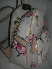 NEW GUESS LADIES BACKPACK PANDORE GROUP WHITE MULTI COLOR