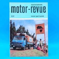 DDR Motor-Revue 9-1979  (tschechoslowakische) Skoda Jawa CZ Tatra II