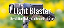 NEW Light Blaster for Canon EF Lens & Flash strobe based portable Projector