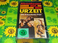Die Rabenfeder Saga - Abenteuer aus der Urzeit - Glasbox - VHS Rarität