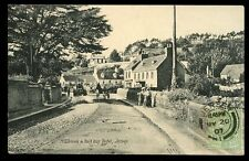 Channel Islands JERSEY Millbrook Steam Roller halfway Hotel 1907 PPC