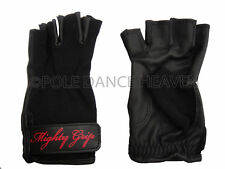 MIGHTY GRIP GLOVES - MED NON TACK FOR POLE DANCING / FITNESS