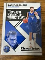 Luka Doncic Panini NBA Chronicles 19-20 No 15 Dallas Mavericks