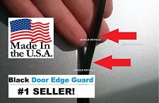Protection Trim (4 Door Kit) USA made!!  BLACK DOOR EDGE GUARDS fits: FORD