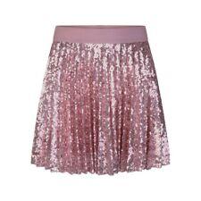 Monnalisa Pink Sequined Skirt 10 Years BNWT £111