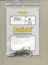 Daiichi 1560 - traditional nymph hook - size 10        quantity 25