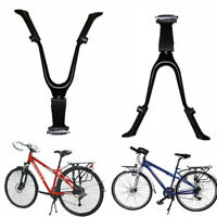Stable Iron Double Leg Mount Stand Bike Bicycle Kickstand Kick Stand  H1