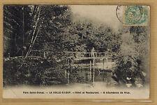 Cpa parc Saint Donat - la Colle sur Loup - hôtel et restaurant 15 km Nice rp0460