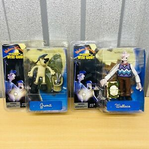 Wallace and Gromit & The Curse Of The Were Rabbit McFarlane Figures FREE POST