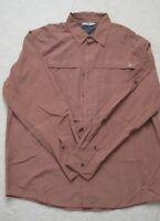 NWOT Wrangler men's long sleeve collar button down shirt Size Large