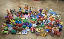 89 Mc Donald Toys Inc Mickey Mouse, Barbies, Disney Characters And Many More.