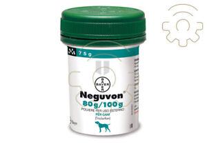 Bayer Neguvon in polvere antiparassitario antipulci pulci pidocchi per cani 80 g