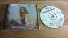 CD Pop Carly Simon - Life Is Eternal (2 Song) Promo ARISTA REC / US jc