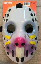 NEW Adult Fortnite Rabbit Raider Halloween Cosplay Costume Party Hockey Mask