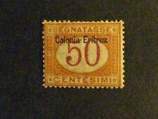 Eritrea #J6 mint hinged  c203 168