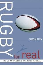 RUGBY FOR REAL - NEW PAPERBACK BOOK